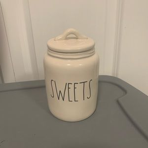 PRICE FIRM NEW RAE DUNN baby sweets canister